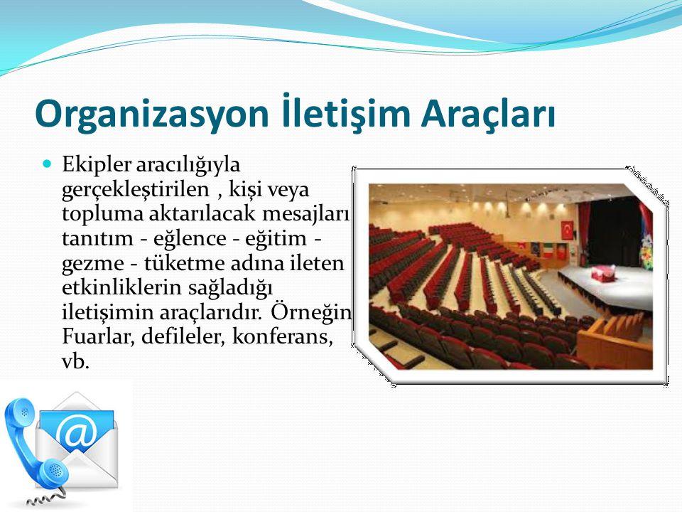 Organizasyon İletişim Araçları