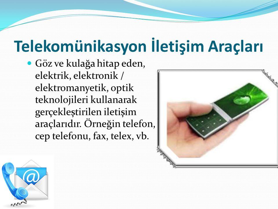 Telekomünikasyon İletişim Araçları