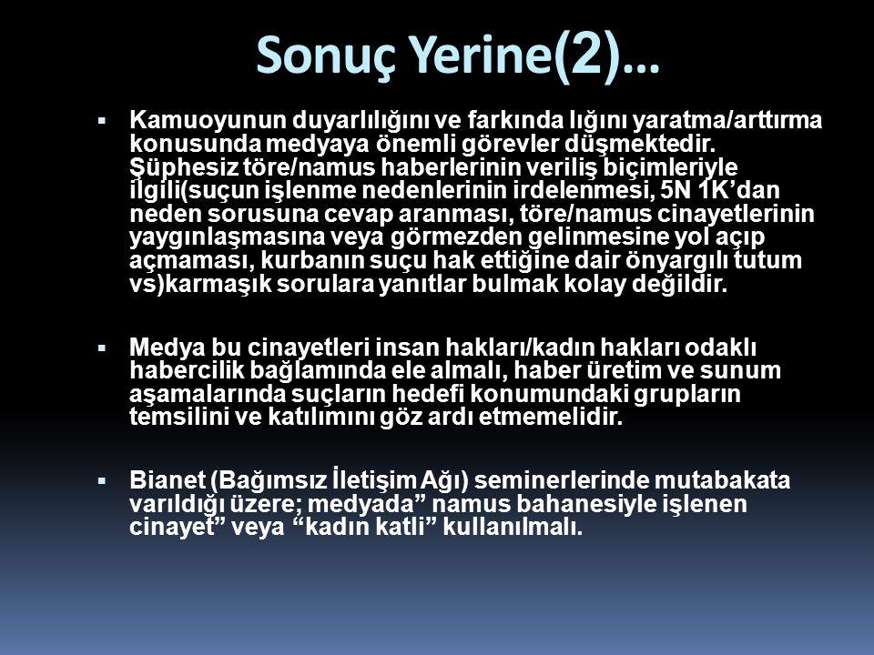 Sonuç Yerine(2)…