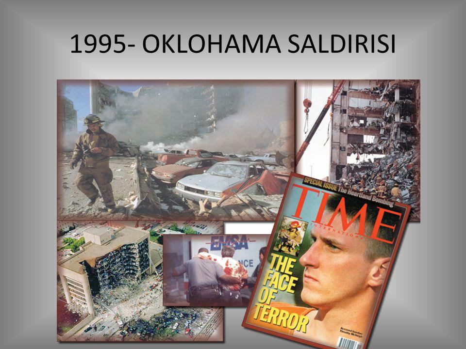 1995- OKLOHAMA SALDIRISI