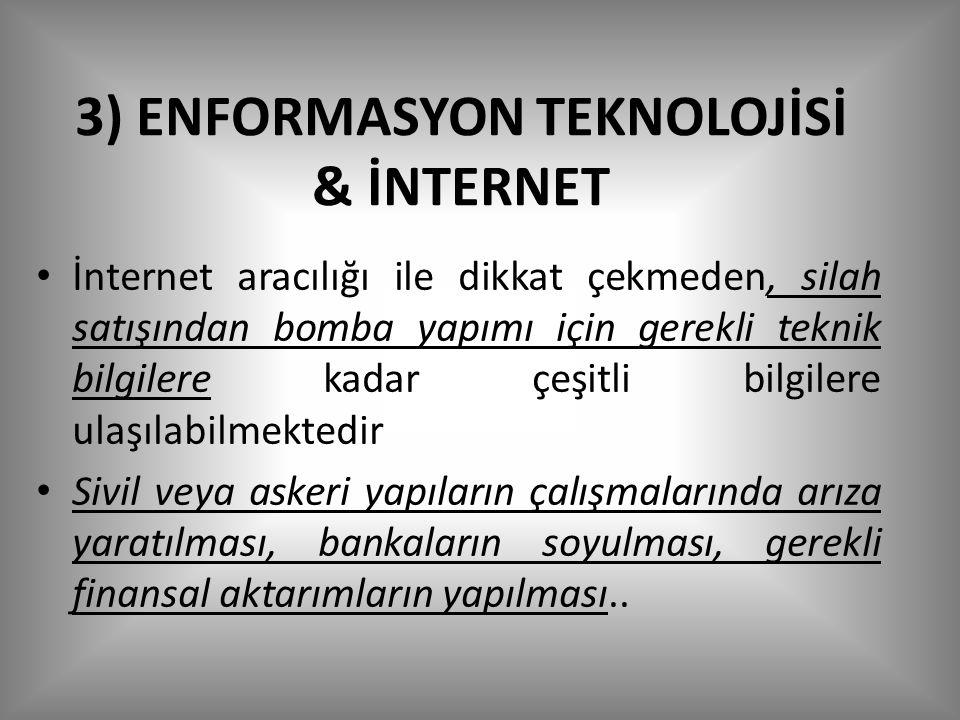 3) ENFORMASYON TEKNOLOJİSİ & İNTERNET