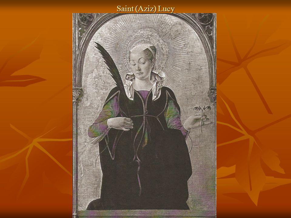 Saint (Aziz) Lucy