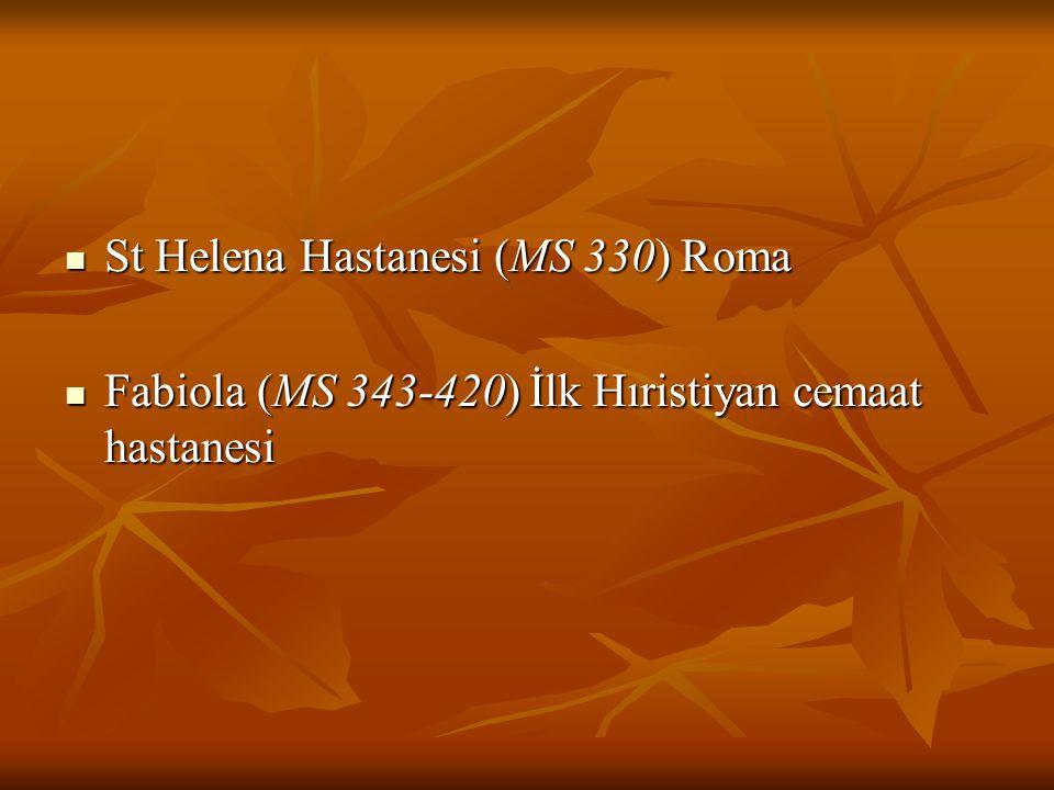 St Helena Hastanesi (MS 330) Roma