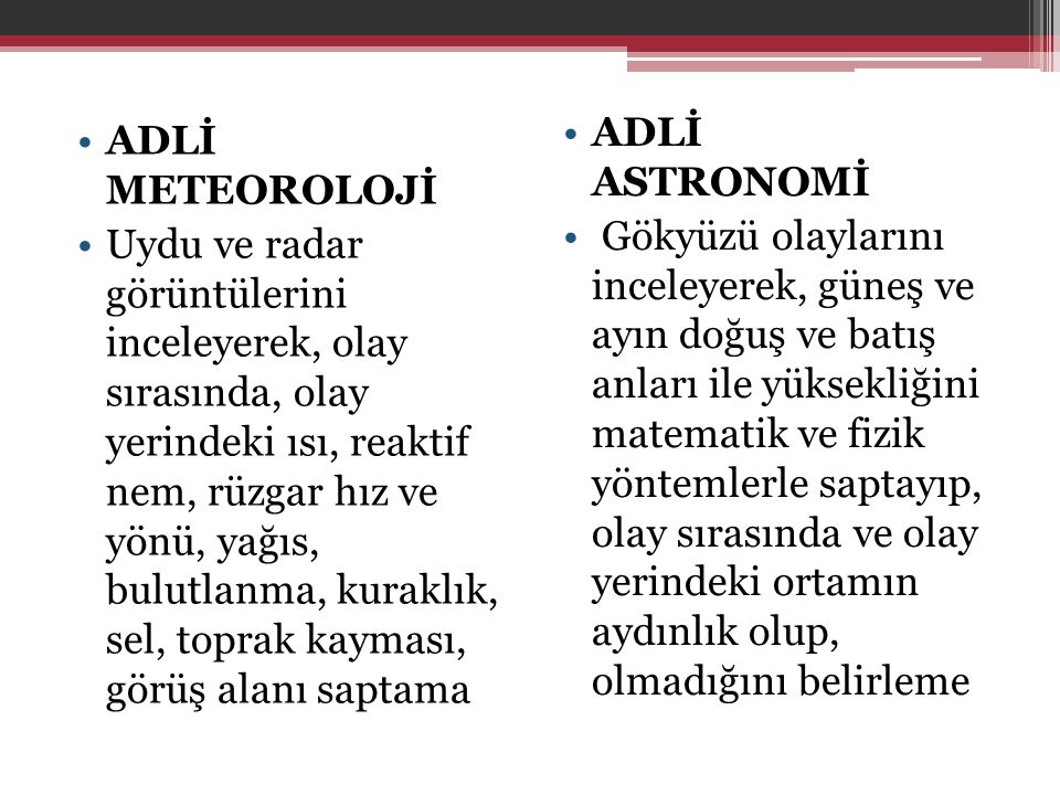 ADLİ ASTRONOMİ