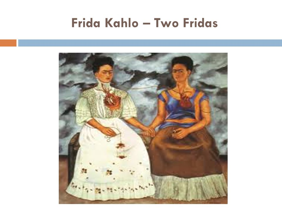 Frida Kahlo – Two Fridas