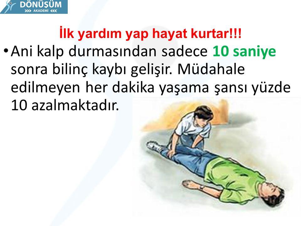 İlk yardım yap hayat kurtar!!!