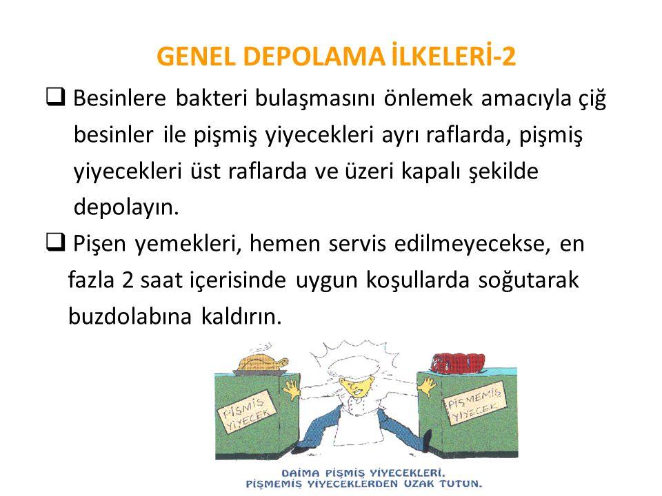 GENEL DEPOLAMA İLKELERİ-2