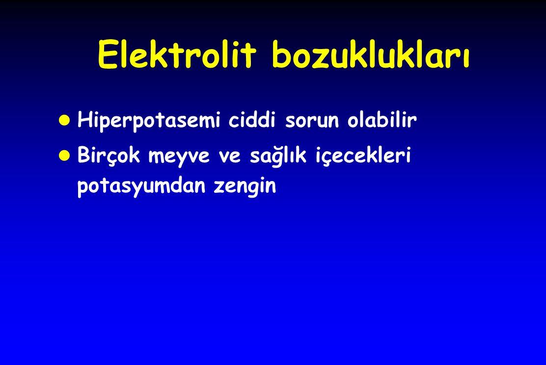 Elektrolit bozuklukları