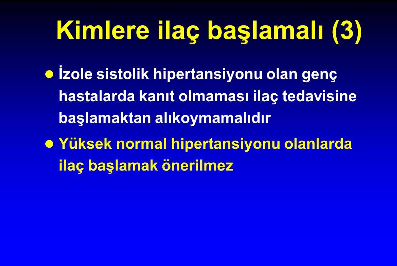 Kimlere ilaç başlamalı (3)