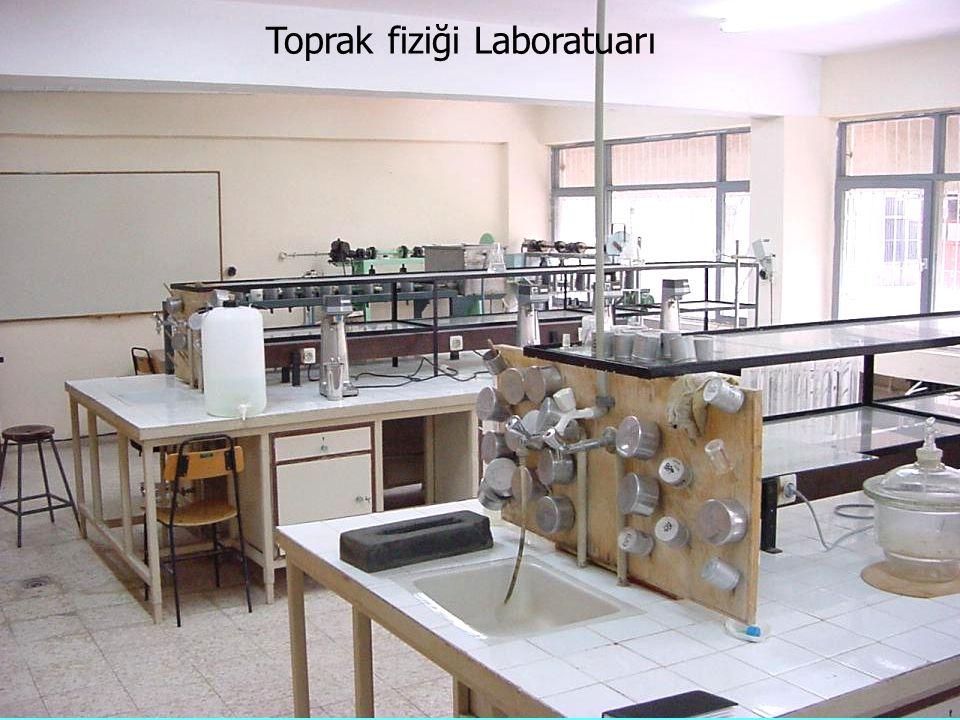 Toprak fiziği Laboratuarı