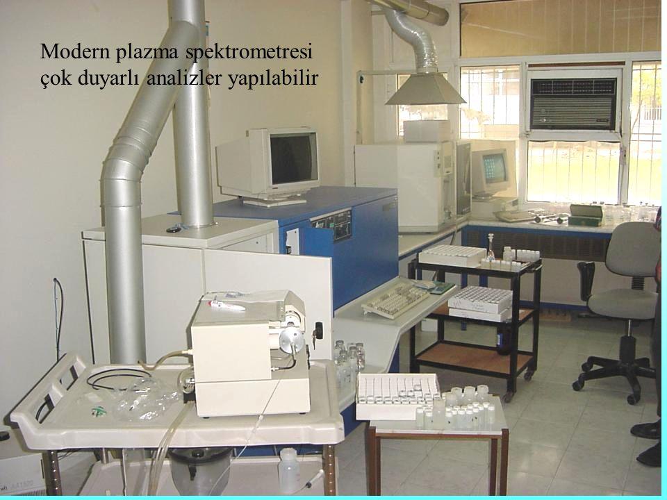 Modern plazma spektrometresi