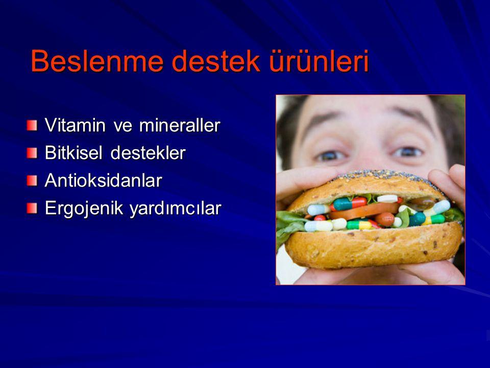 Beslenme destek ürünleri