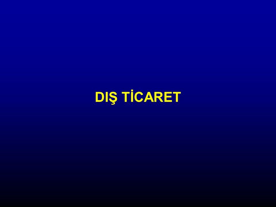 DIŞ TİCARET
