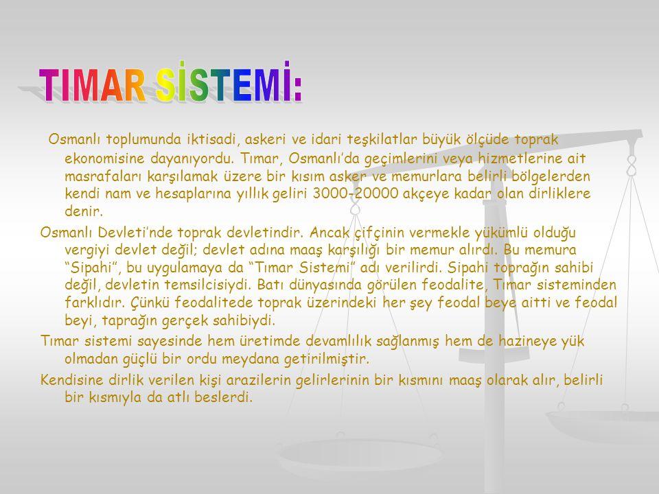 TIMAR SİSTEMİ: