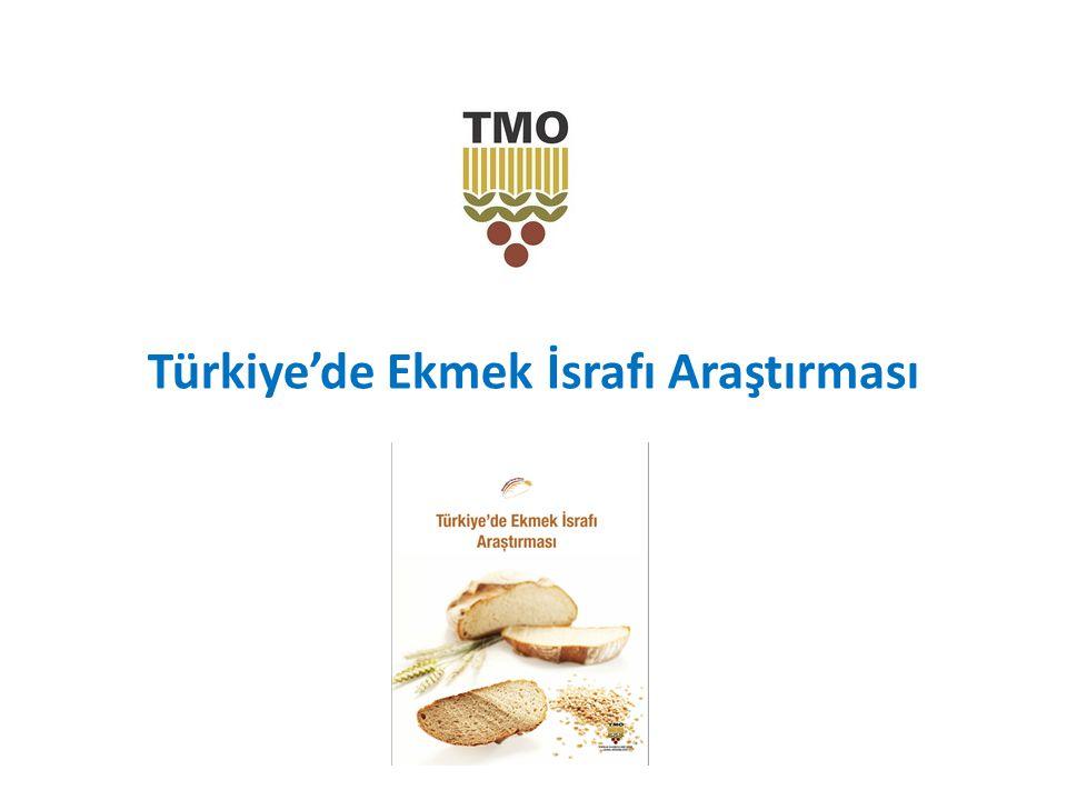 Türkiye'de Ekmek İsrafı Araştırması