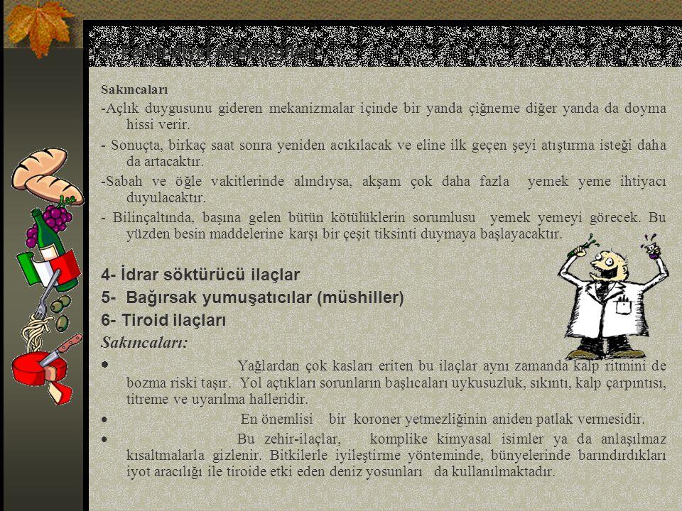 3- Farklı diyet Alternatifleri