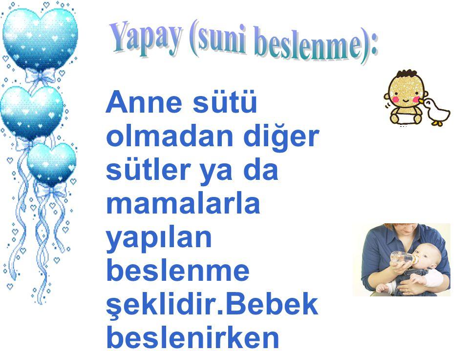 Yapay (suni beslenme):
