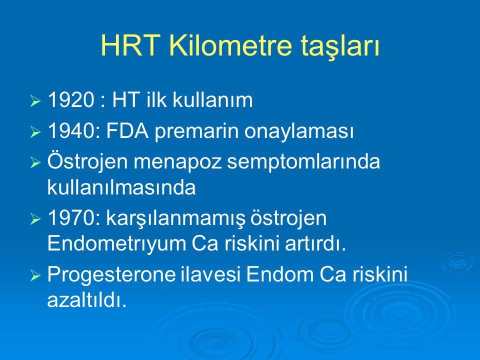 HRT Kilometre taşları 1920 : HT ilk kullanım