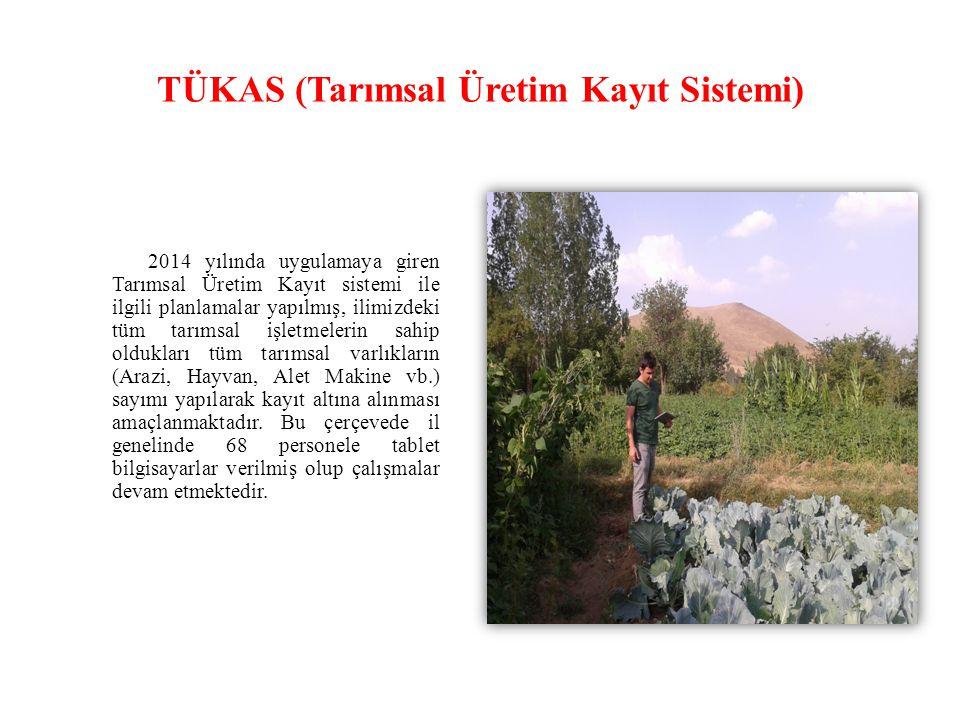TÜKAS (Tarımsal Üretim Kayıt Sistemi)