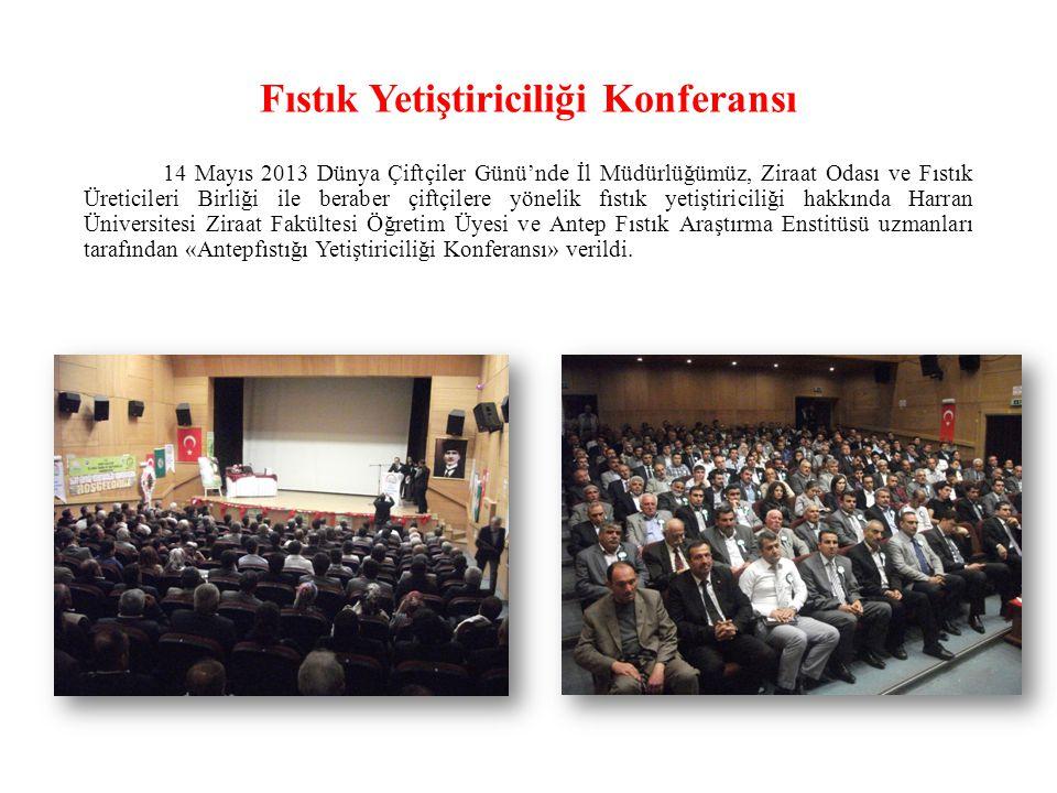 Fıstık Yetiştiriciliği Konferansı