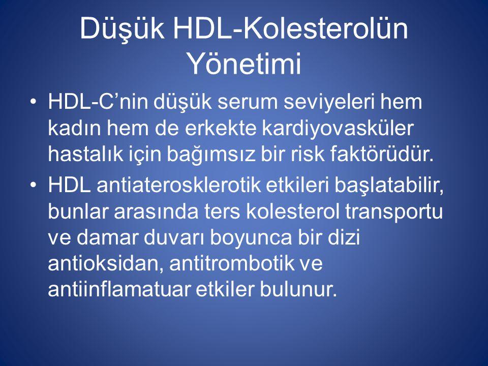 Düşük HDL-Kolesterolün Yönetimi