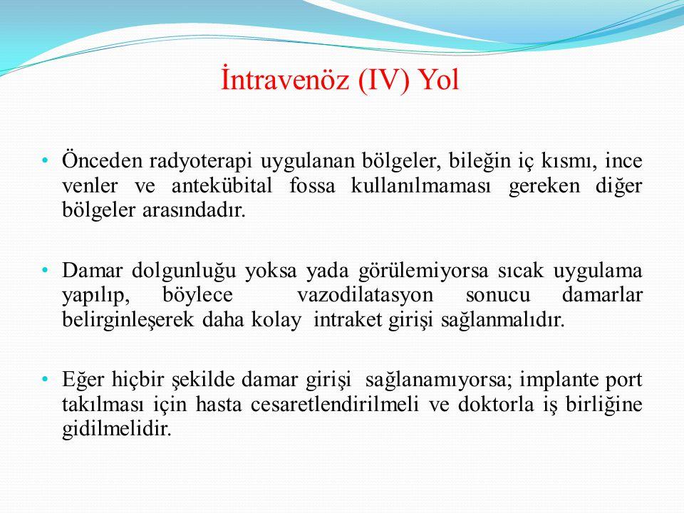 İntravenöz (IV) Yol