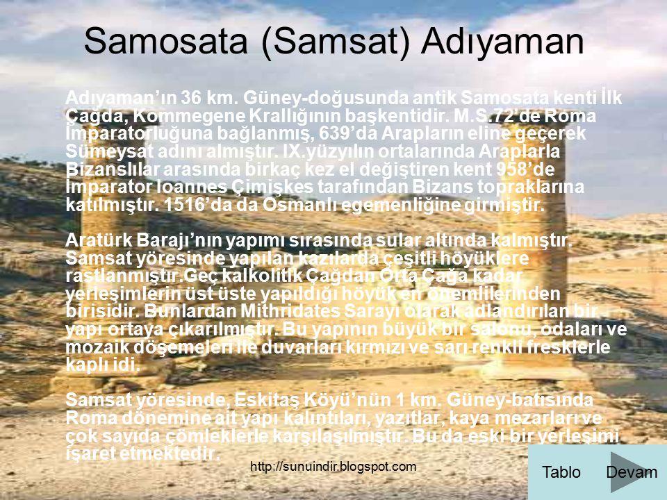 Samosata (Samsat) Adıyaman