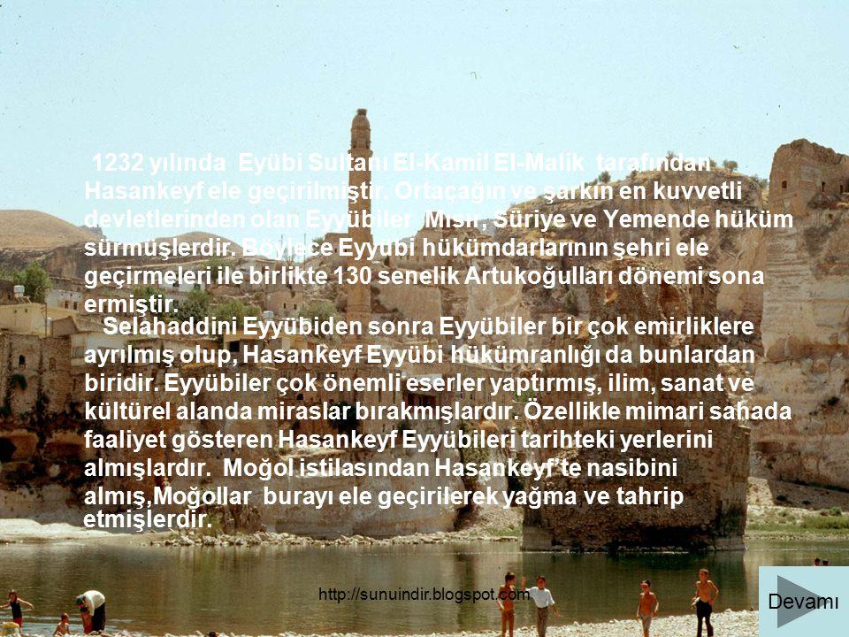 1232 yılında Eyübi Sultanı El-Kamil El-Malik tarafından