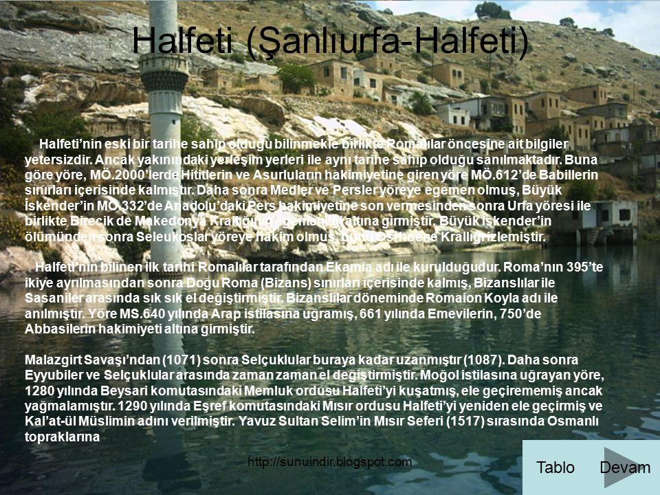 Halfeti (Şanlıurfa-Halfeti)