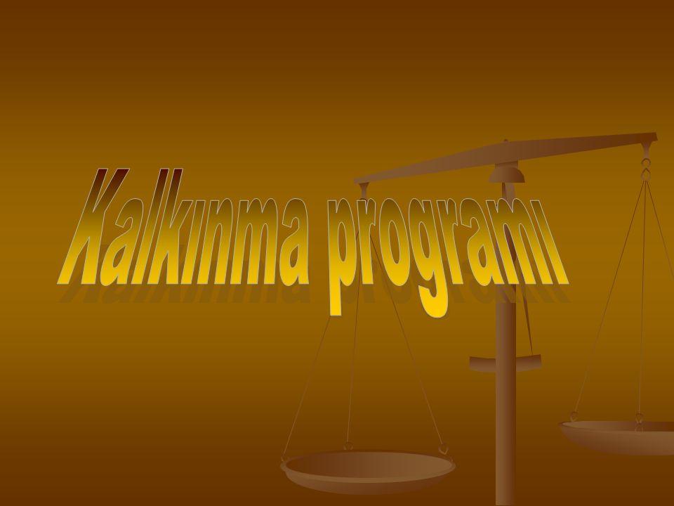 Kalkınma programı 15