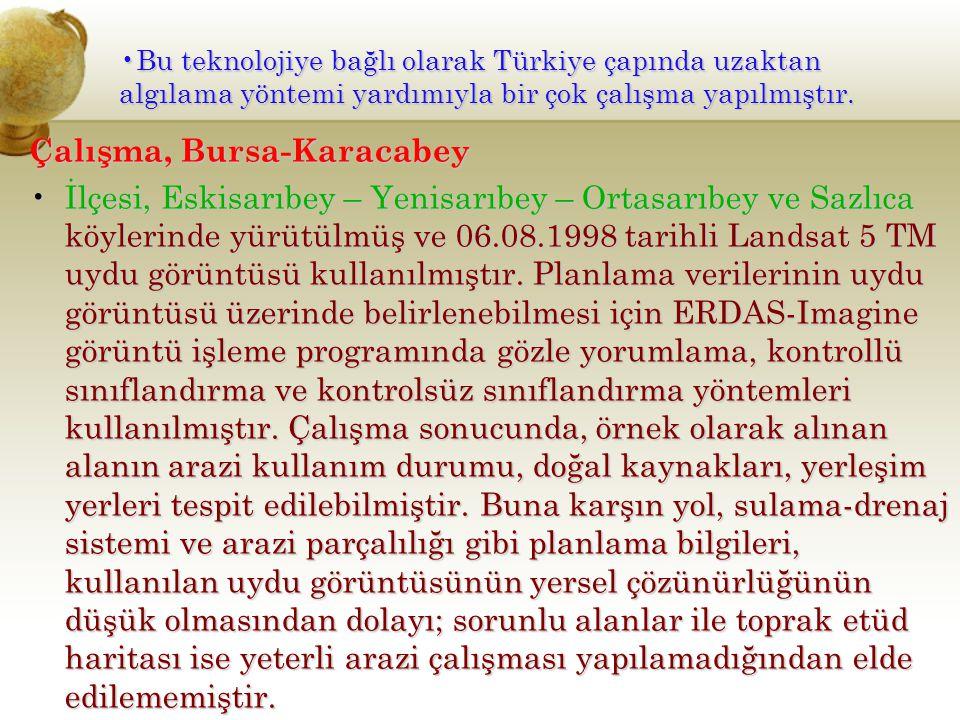 Çalışma, Bursa-Karacabey