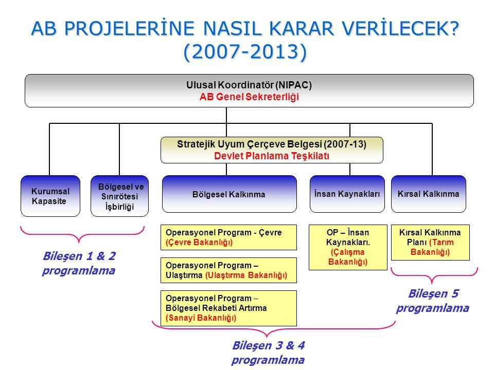 AB PROJELERİNE NASIL KARAR VERİLECEK (2007-2013)