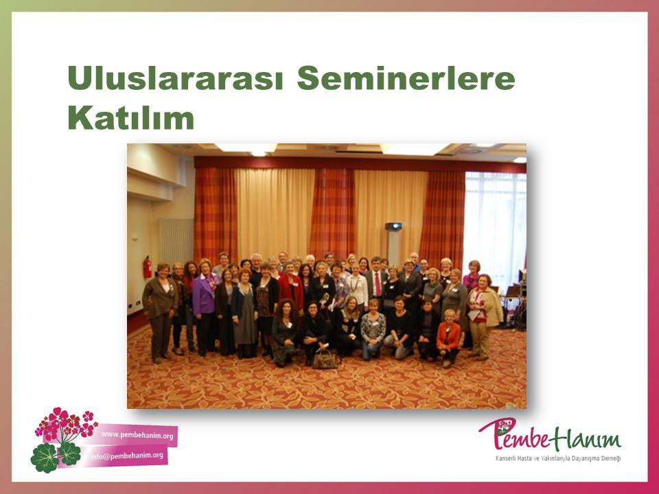Uluslararası Seminerlere Katılım