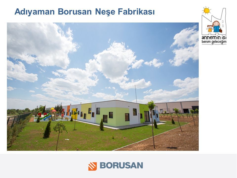 Adıyaman Borusan Neşe Fabrikası