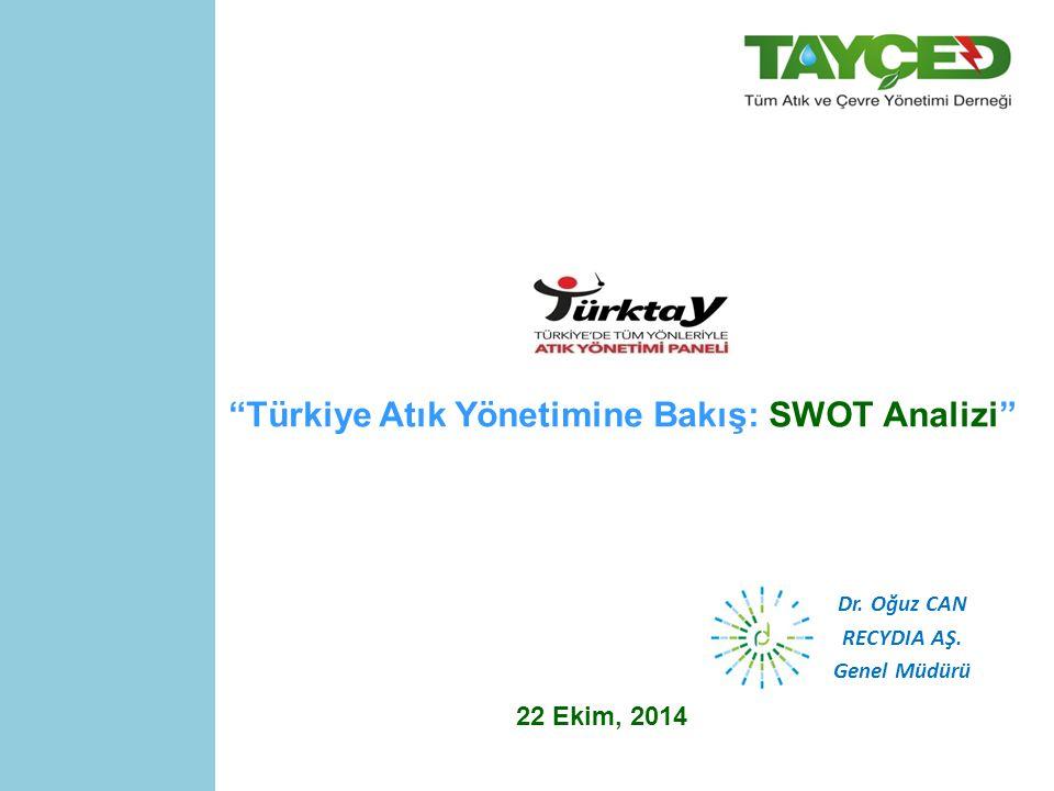 Türkiye Atık Yönetimine Bakış: SWOT Analizi