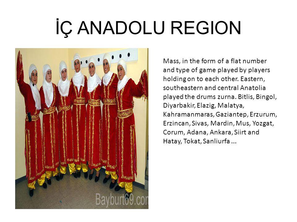 İÇ ANADOLU REGION