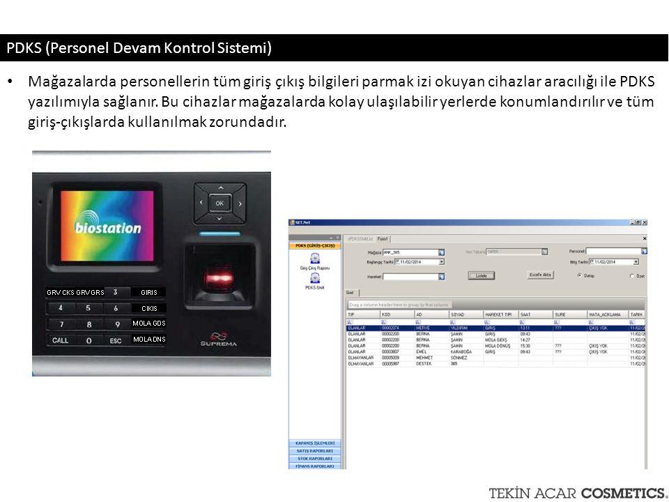 PDKS (Personel Devam Kontrol Sistemi)
