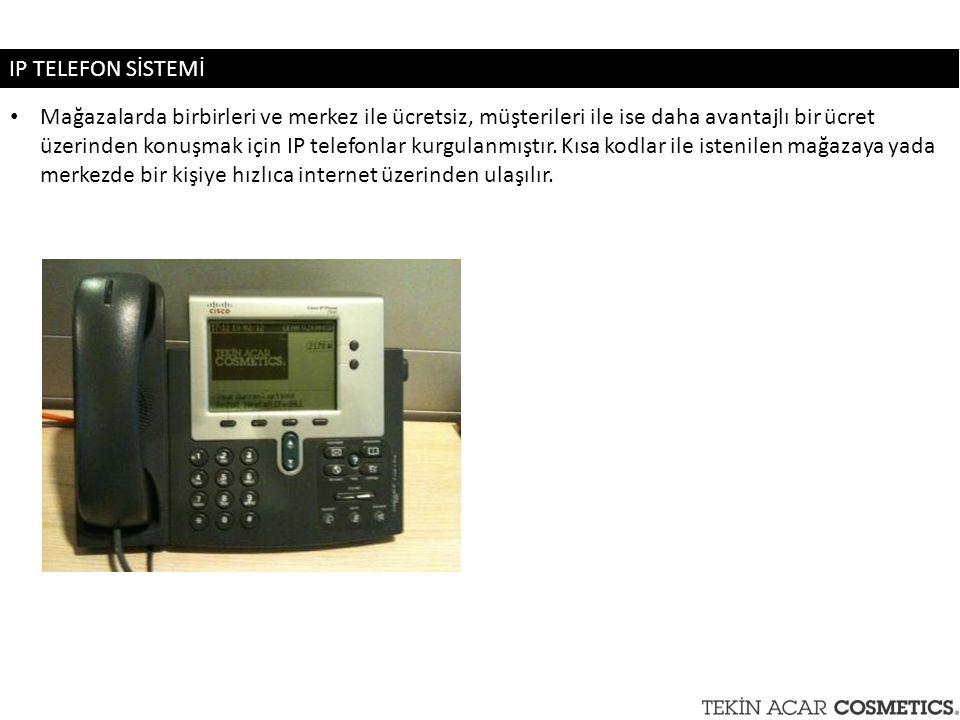 IP TELEFON SİSTEMİ