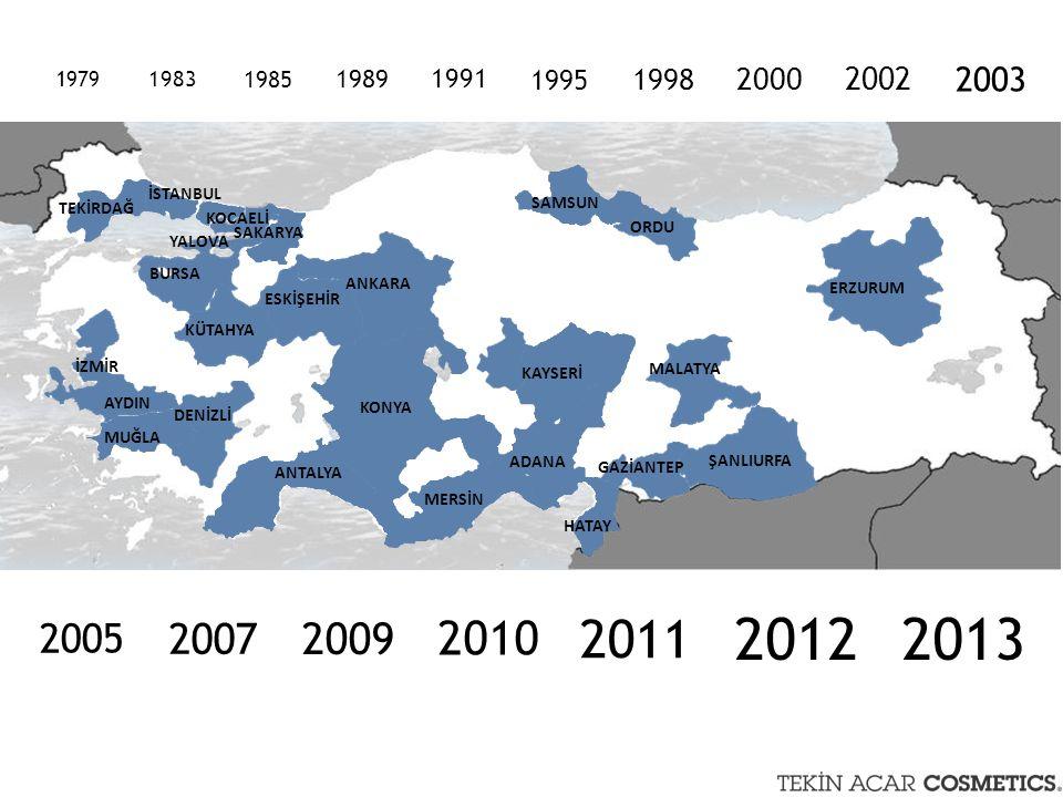1985 1989. 1991. 1995. 1998. 2000. 2002. 2003. 1979. 1983. ANKARA. İSTANBUL. TEKİRDAĞ. KOCAELİ.