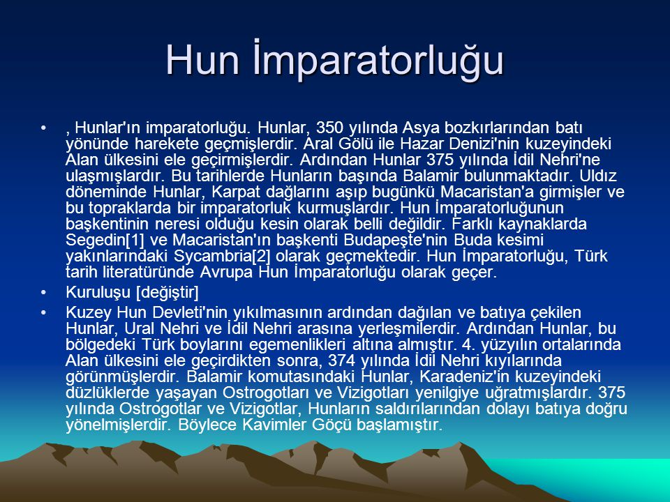 Hun İmparatorluğu