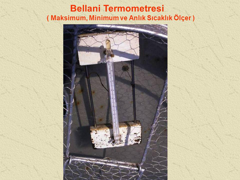 Bellani Termometresi ( Maksimum, Minimum ve Anlık Sıcaklık Ölçer )