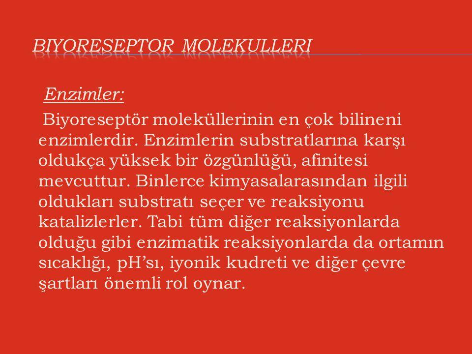 BIYORESEPTOR MOLEKULLERI