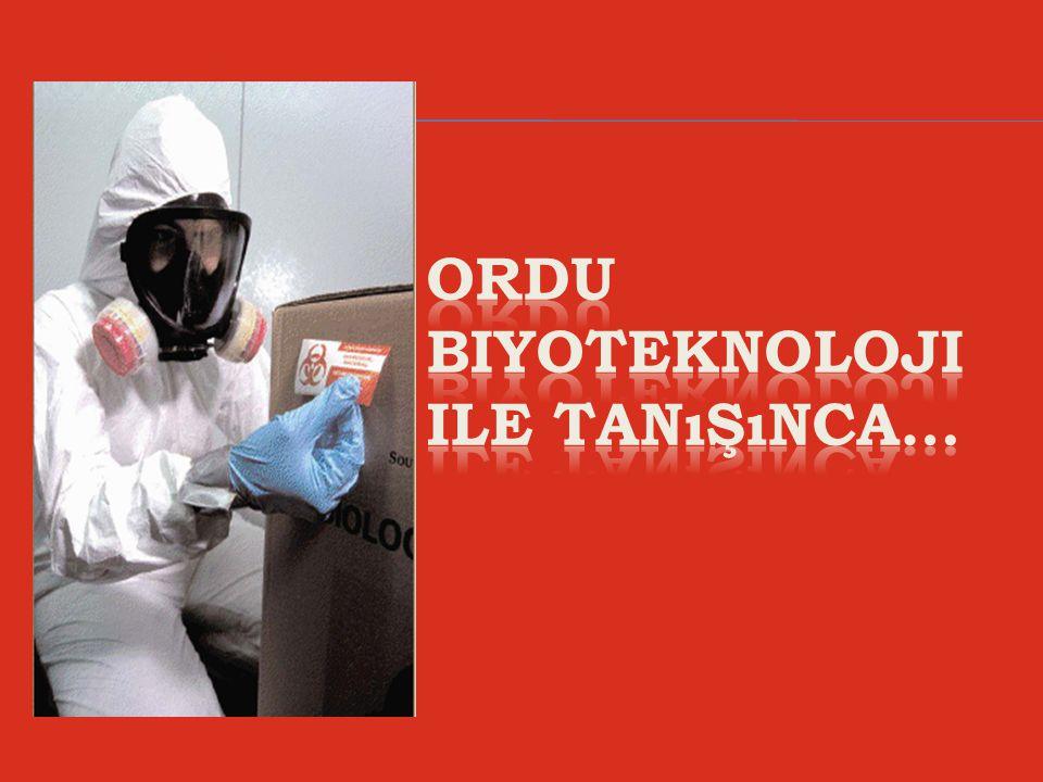 ORDU biyoteknoloji ile tanışınca…