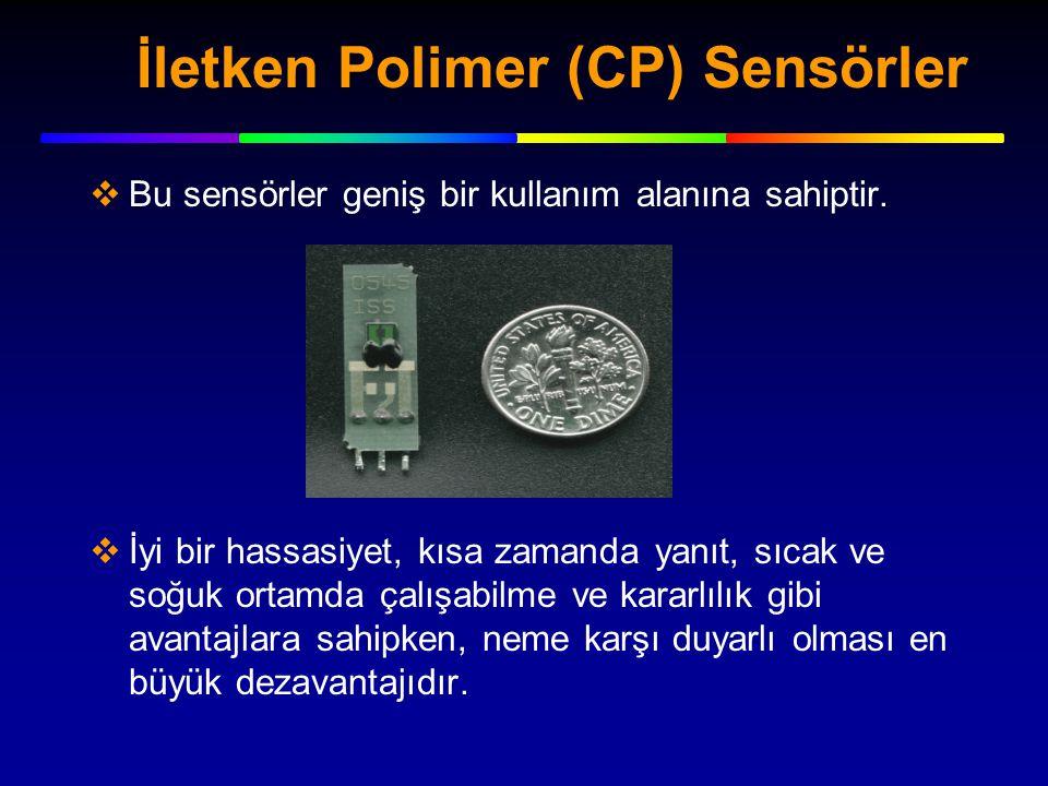 İletken Polimer (CP) Sensörler