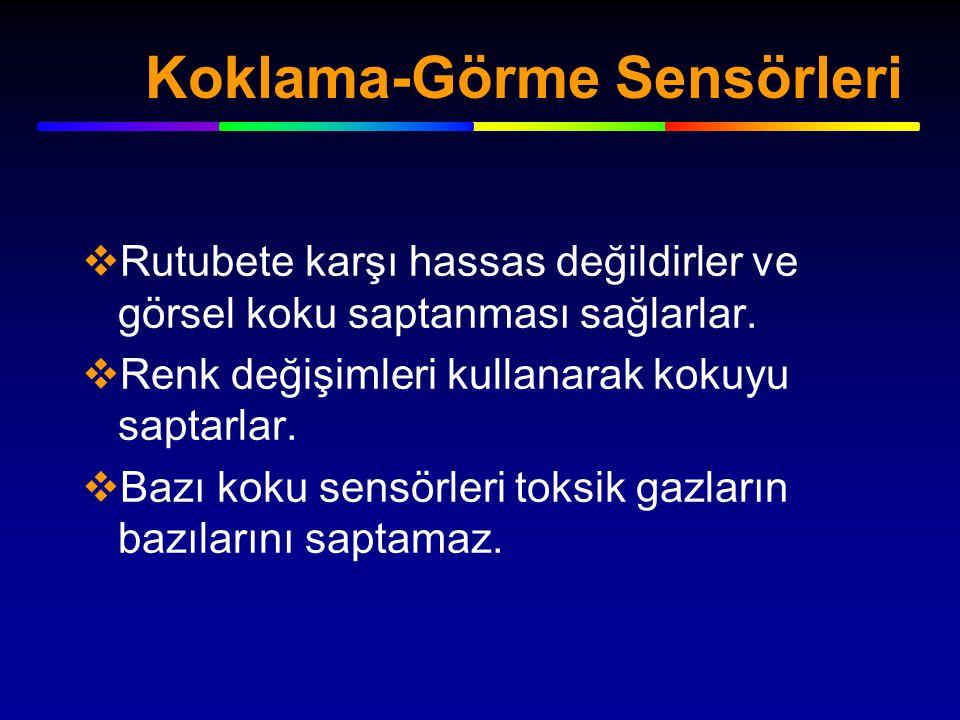 Koklama-Görme Sensörleri