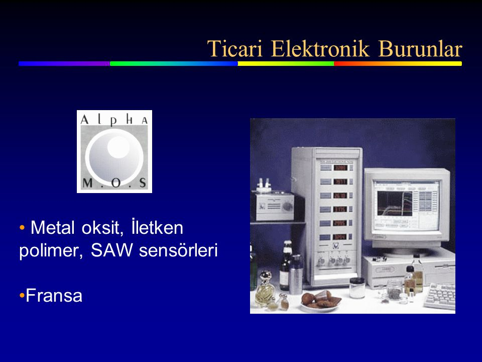 Ticari Elektronik Burunlar