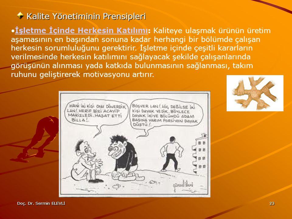 Kalite Yönetiminin Prensipleri