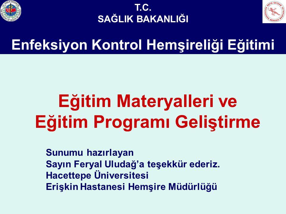 Eğitim Materyalleri ve Eğitim Programı Geliştirme