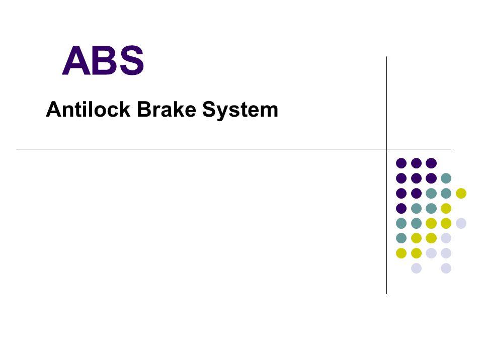 ABS Antilock Brake System