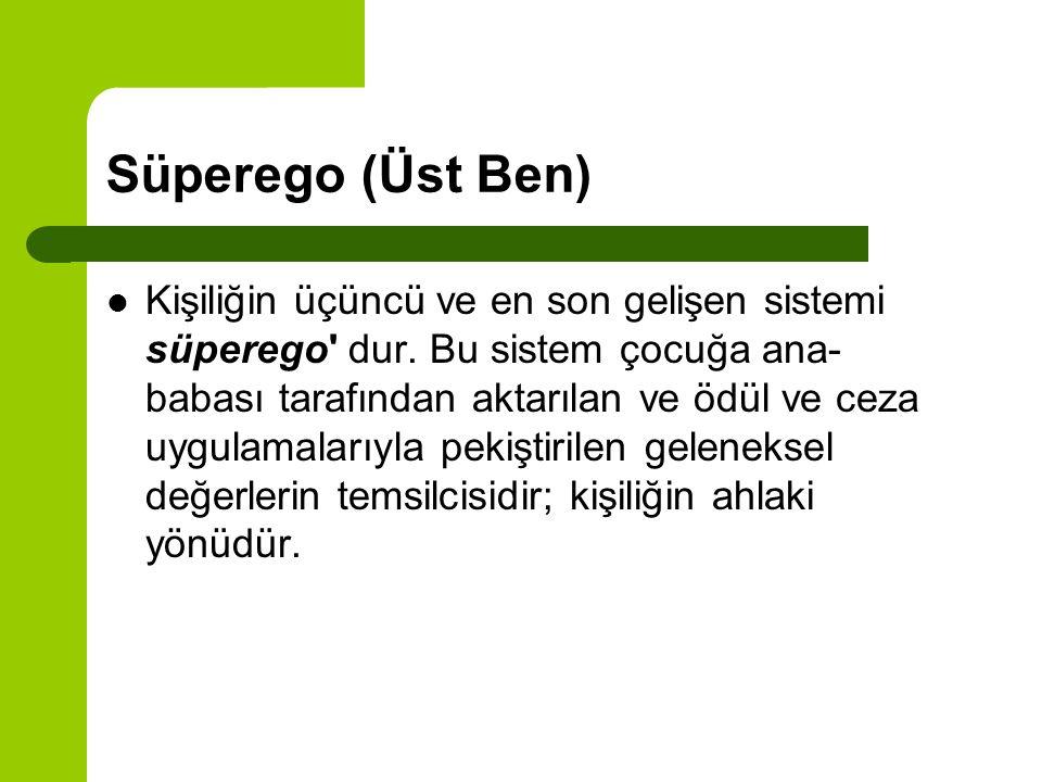 Süperego (Üst Ben)